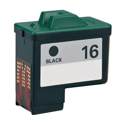 Image of   Lexmark 16 (10N0016) sort kompatibel blækpatron (12 ml)