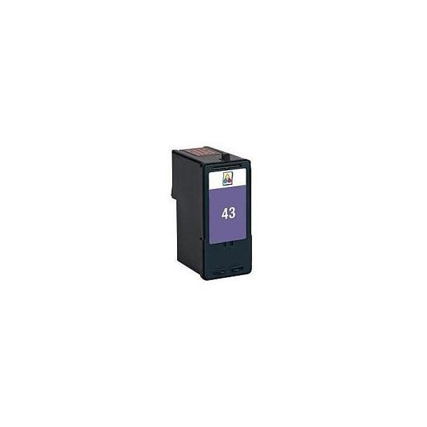 Lexmark 43 – 18Y0143 – 3-Farve 18 ml