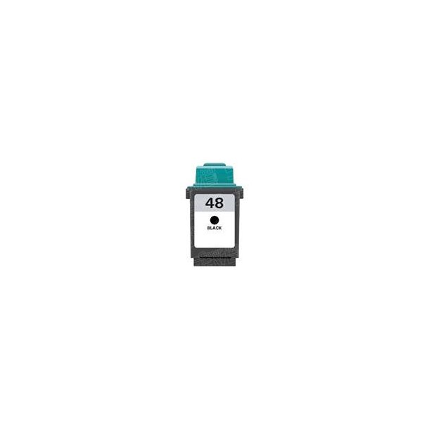 Lexmark 48 BK – 17G0648 – Sort 26 ml
