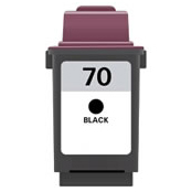 Image of   Lexmark 70 (12A1970) Sort kompatibel blækpatron (26 ml)