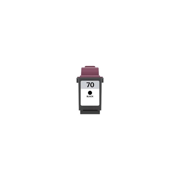 Lexmark 70 BK – 12A1970 – Sort 26 ml