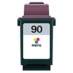 Image of   Lexmark 90 (12A1990) photo color kompatibel blækpatron 26 ml