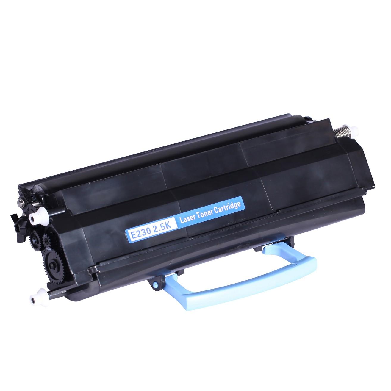 Lexmark E230 2.5K Lasertoner, sort, kompatibel (2500 sider)