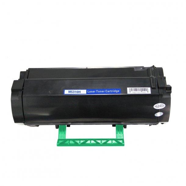 Lexmark 502H/502HE BK Lasertoner – 50F2H00/50F2H0E – Sort 5000 sider