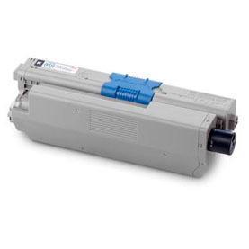 Image of   OKI C301 BK Lasertoner,sort.Kompatibel,2200 sider