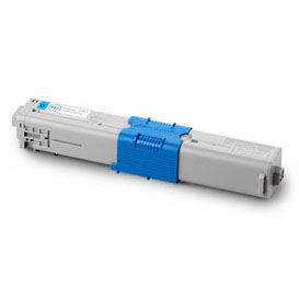 Image of   OKI C301 C Lasertoner,Cyan.Kompatibel,1500 sider
