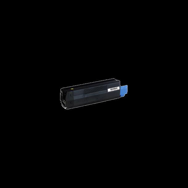 OKI C5100 BK Lasertoner, sort, (5000 sider)