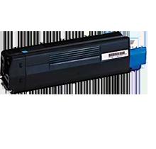 Image of   OKI C5100 C Lasertoner, cyan, kompatibel (5000 sider)
