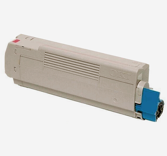 Image of   OKI C5800/C5900M (43324422) Lasertoner, Magenta, Kompatibel, 5000 sider