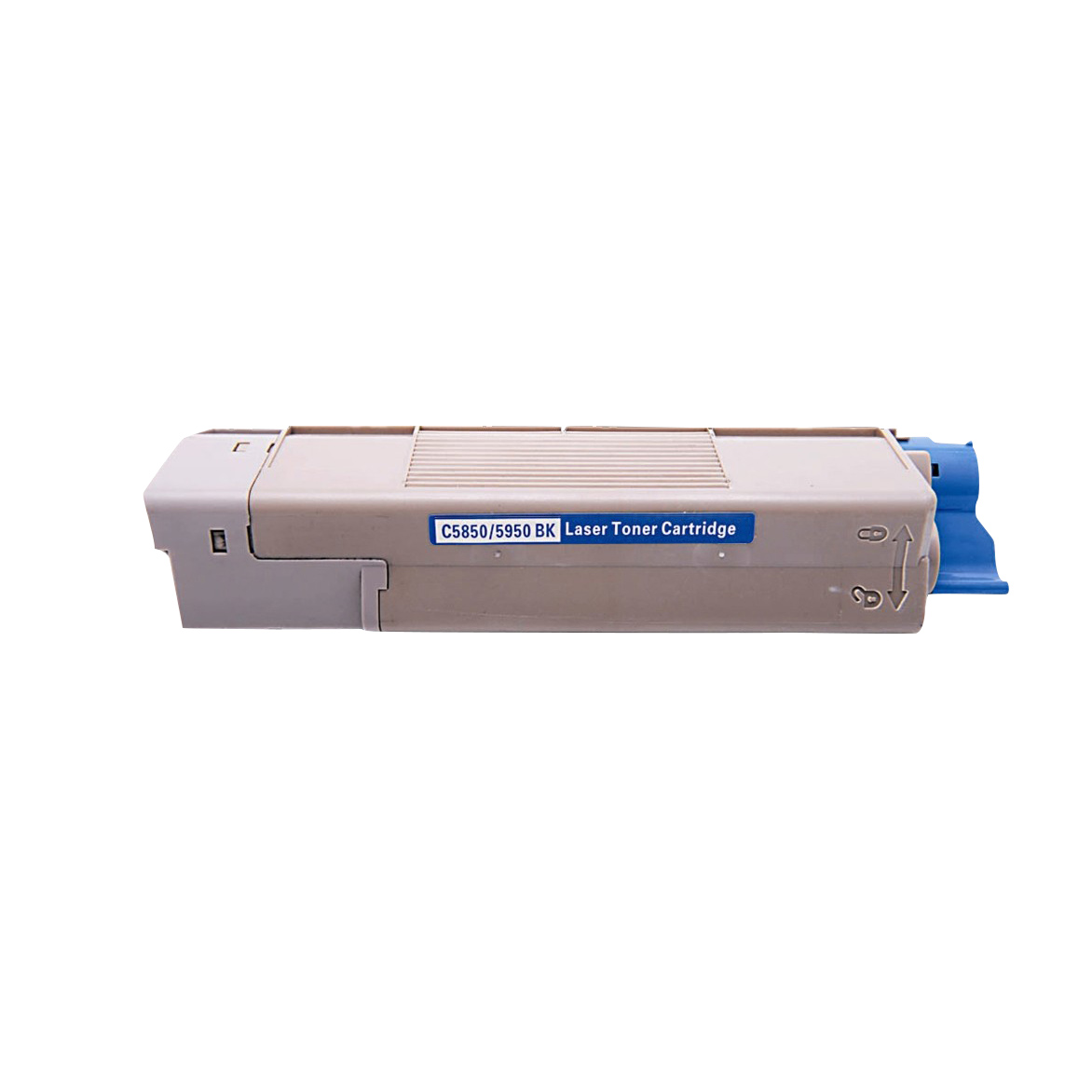 Image of   OKI C5850/5950/MC560 BK Lasertoner, sort, kompatibel (8000 sider)