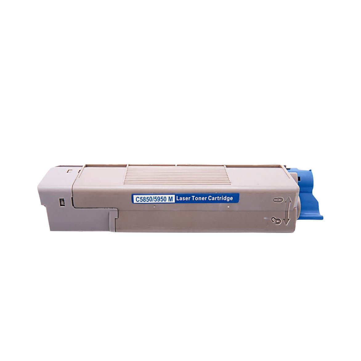 Image of   OKI C5850/5950/MC560 M Lasertoner, magenta, kompatibel (6000 sider)