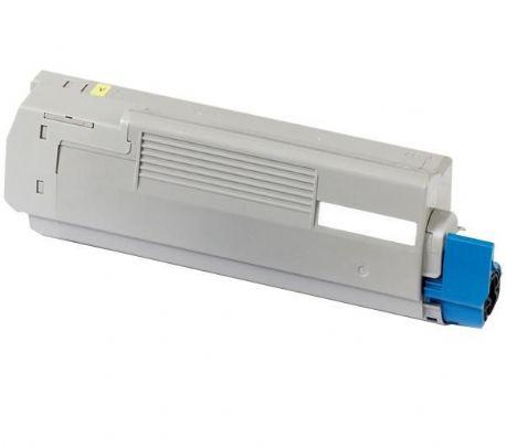 OKI C610 Y Lasertoner, Gul.Kompatibel,6000 sider