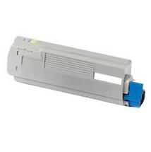 Image of   OKI C710/C711Y (44318605) Lasertoner, Gul, Kompatibel, 11500 sider