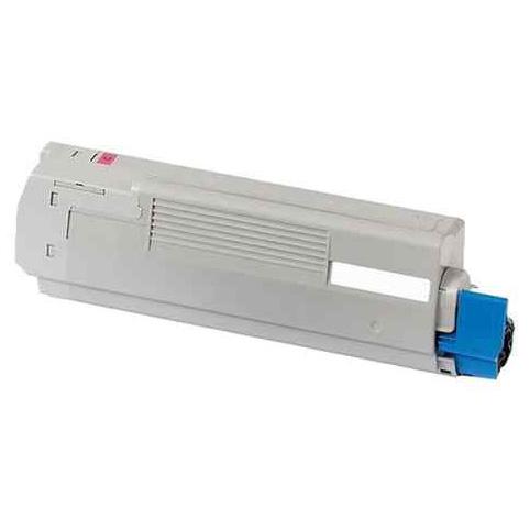 Image of   OKI 44844506 Lasertoner, Magenta, Kompatibel, 10000 sider