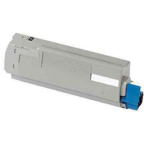 Image of   OKI 44844508 Lasertoner, Sort, Kompatibel, 10000 sider