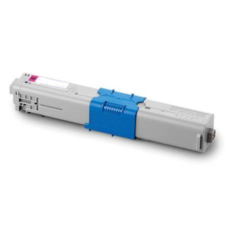 Image of   OKI C310 M (44469705) Lasertoner, Magenta, Kompatibel (3000 sider)