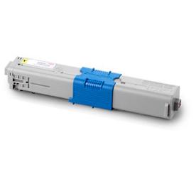 Image of   OKI C510/530/MC 561 Lasertoner, gul, kompatibel (5000 sider)