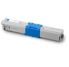 Image of   OKI C510/530/MC 561 Lasertoner, Cyan, kompatibel (5000 sider)