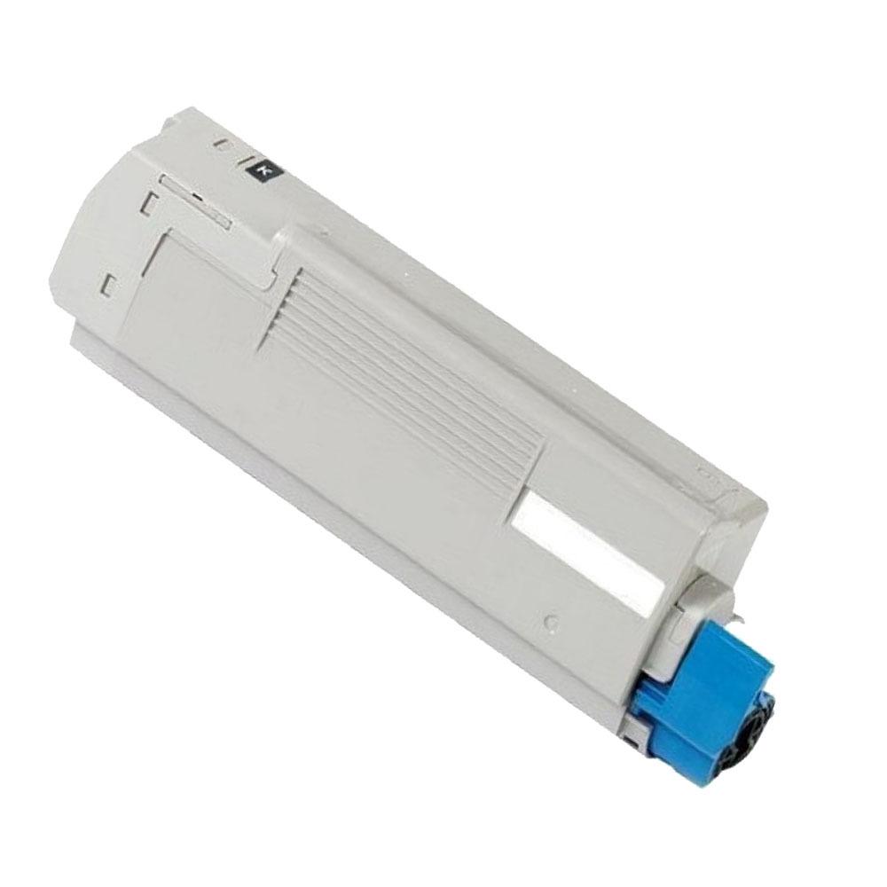 Image of   OKI C5550/C6100/6150 BK Lasertoner, sort, Kompatibel (8000 sider)