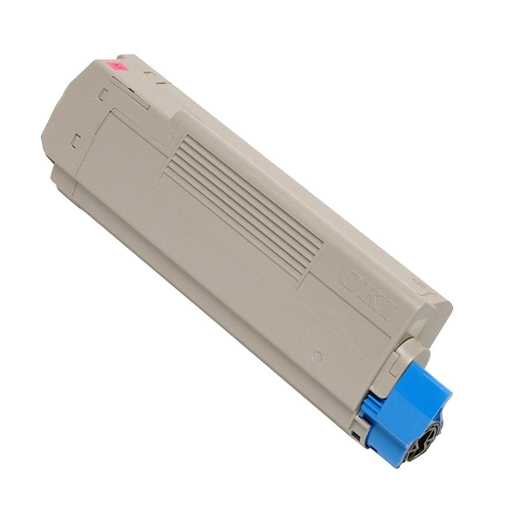 Image of   OKI C5550/C6100/6150 M Lasertoner, Magenta, Kompatibel (6000 sider)