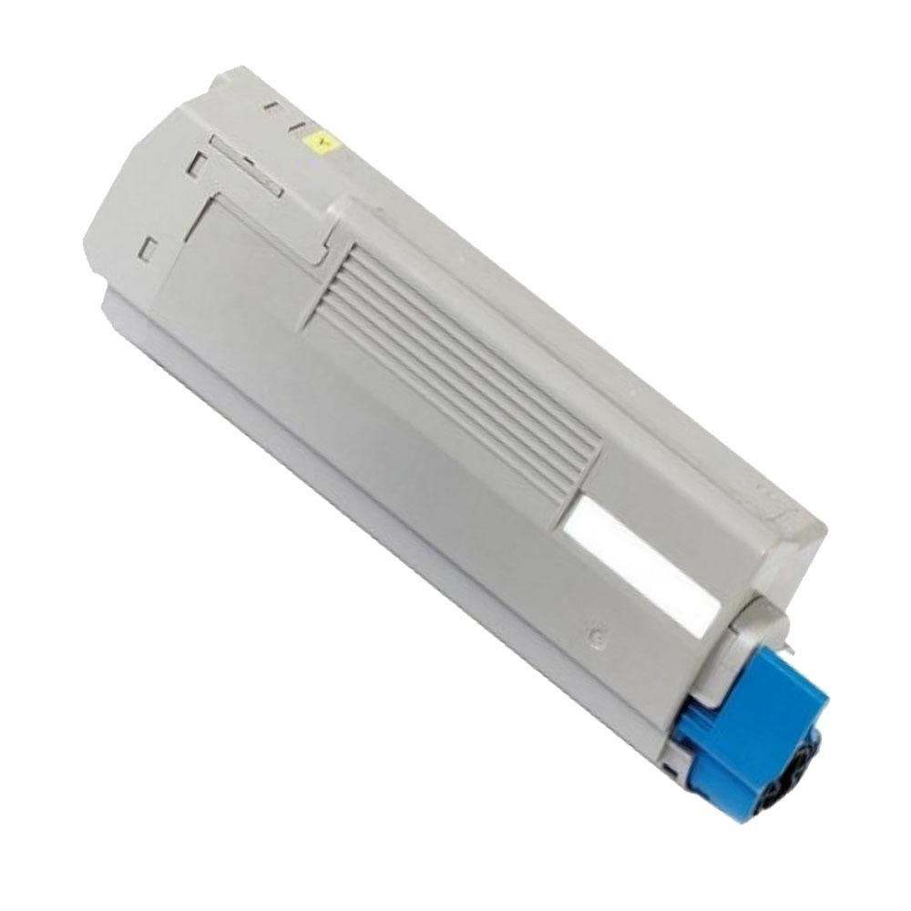 Image of   OKI C5550/C6100/6150 Y Lasertoner, Gul, Kompatibel (6000 sider)