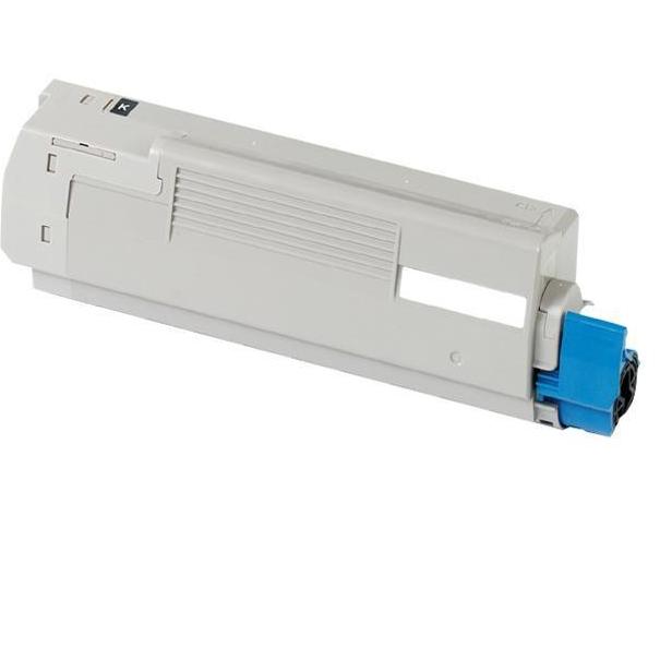 OKI C5600/5700 BK Lasertoner, sort, kompatibel (6000 sider)