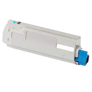 Image of   OKI C5600/5700 C Lasertoner, Cyan, kompatibel (2000 sider)