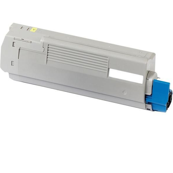 Image of   OKI C5600/5700 Y Lasertoner, gul, kompatibel (2000 sider)
