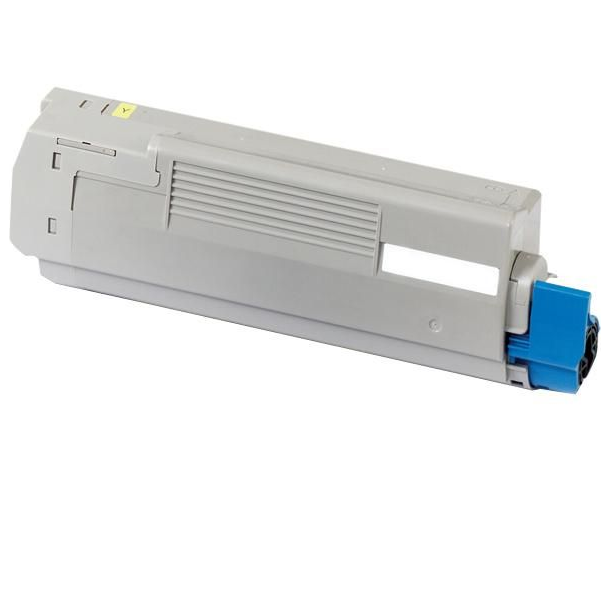 OKI C5600/5700 Y Lasertoner, gul, (2000 sider)