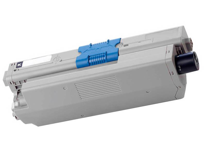 Image of   OKI C310 BK (44469803) Lasertoner, Sort, Kompatibel (3000 sider)