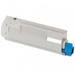 Image of   OKI C610 BK Lasertoner,sort.Kompatibel,8000 sider