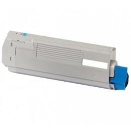 Image of   OKI C610 C Lasertoner,Cyan.Kompatibel,6000 sider