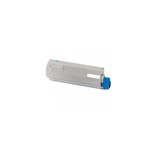 OKI C610 C Lasertoner,Cyan,6000 sider