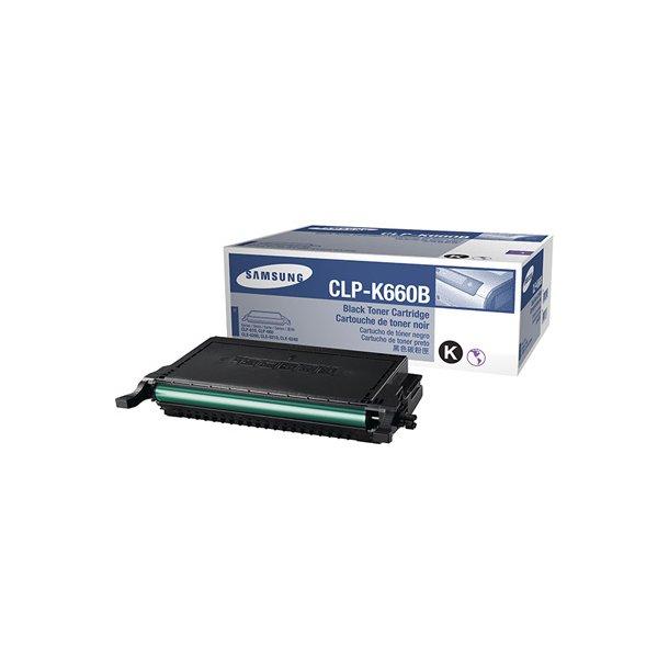 Samsung CLP-K660B, sort Lasertoner,