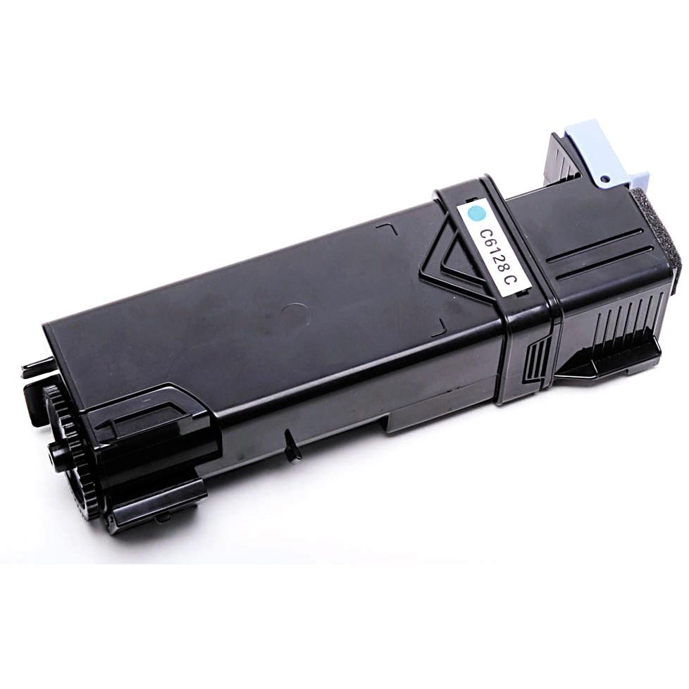 Image of   Xerox Phaser 6128C (106R1452) Lasertoner, Cyan, Kompatibel, 2500 print