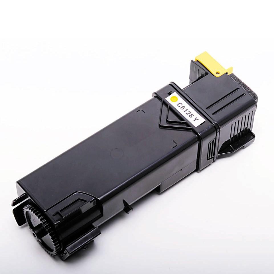 Xerox Phaser 6128Y (106R1454) Lasertoner, Gul, Kompatibel, 2500 sider