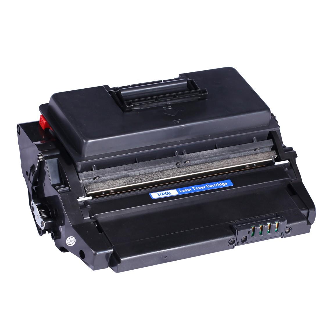 Image of   Xerox 3600B BK (106R01372) Lasertoner, Sort, Kompatibel (20000 sider)