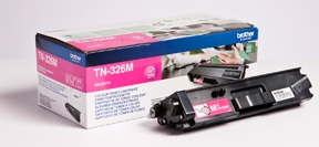 Image of   Brother TN326 M Magenta Lasertoner, Original
