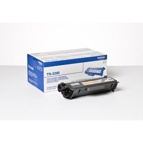 Image of   Brother TN3390 BK sort Lasertoner, Original