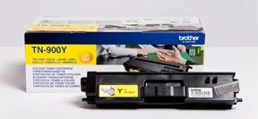 Image of   Brother TN900 Y Gul Lasertoner, Original