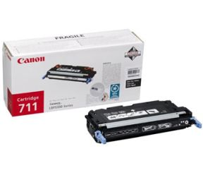 Image of   Canon 711 BK 1660B002 sort toner, original