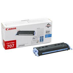 Image of   Canon 707 C 9423A004 cyan toner, original