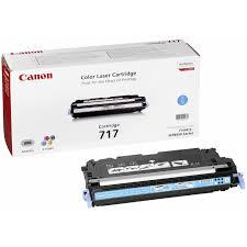 Image of   Canon 717 C 2577B002 cyan toner, original