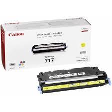 Image of   Canon 717 Y 2575B002 gul toner, original