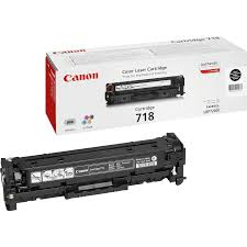 Image of   Canon 718 BK 2662B002 sort toner, original