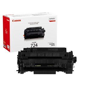 Image of   Canon CRG 724 BK 3481B002 sort toner, original