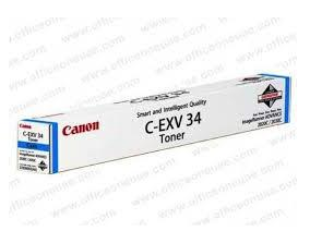 Image of   Canon C-EXV 34 C 3783B002 cyan toner, original