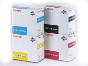 Image of   Canon C-EXV 19 BK 0397B002 sort toner, original