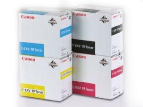 Image of   Canon C-EXV 19 C 0398B002 cyan toner, original