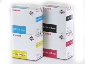 Image of   Canon C-EXV 19 M 0399B002 magenta toner, original